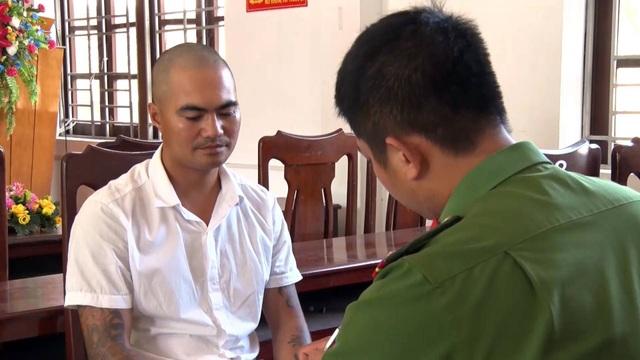 Đối tượng Nguyễn Ngọc Tú tại cơ quan điều tra