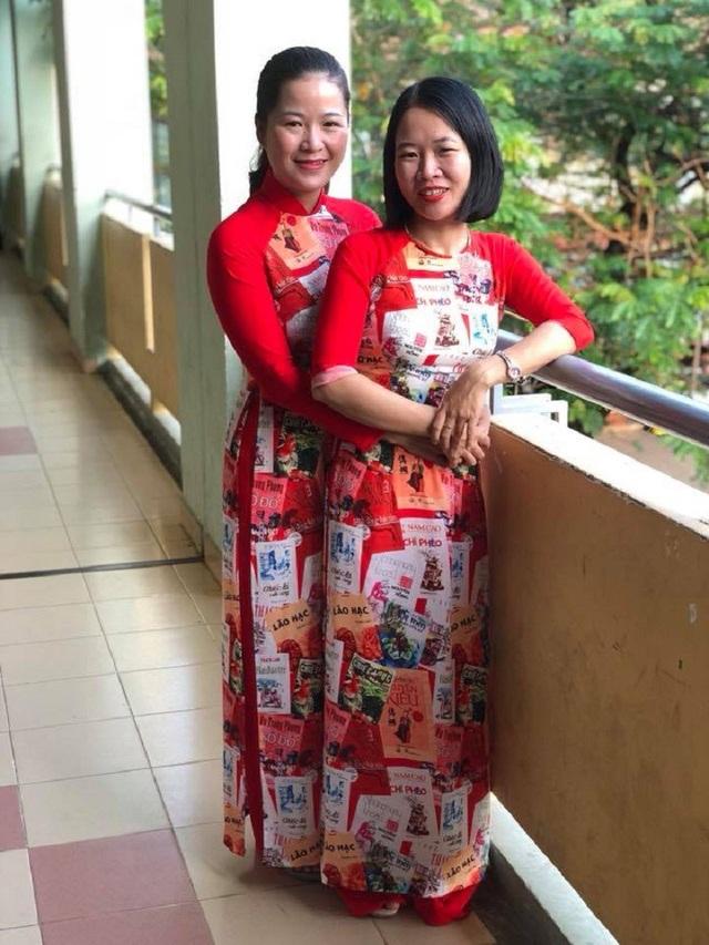 Cô Trang Như và đồng nghiệp