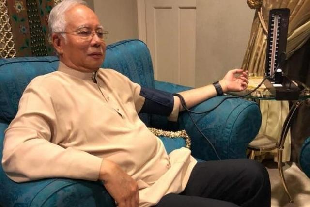 Cựu Thủ tướng Malaysia Najib Razak (Ảnh: Twitter)