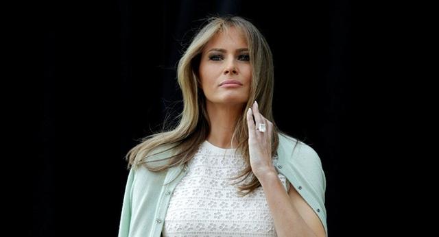 Đệ nhất phu nhân Mỹ Melania (Ảnh: Reuters)