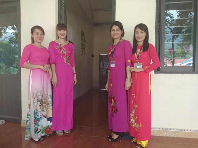Niềm vui của các cô giáo bên dãy nhà công vụ mới do báo Dân trí và Thẩm mỹ Hoàng Tuấn xây dựng