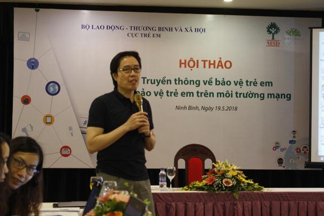 Ông Đặng Hoa Nam, Cục trưởng Cục Trẻ em (Bộ LĐ-TB&XH).
