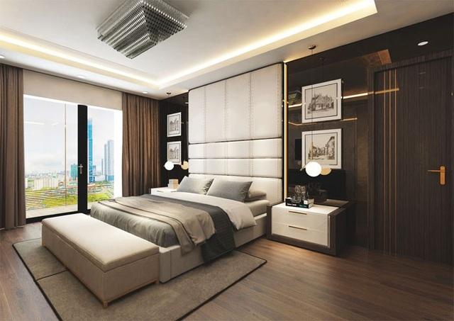 Mỗi chi tiết, đường nét thiết kế cho đến nội thất căn hộ đều thể hiện chất quý tộc, thượng lưu của gia chủ.