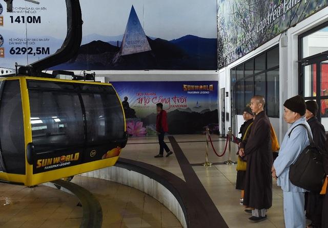 Mừng lễ Phật đản 2018, Sun World Fansipan Legend tặng vé cáp treo tới quý Tăng Ni cả nước - 2