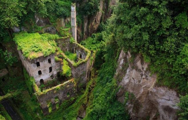 Thị trấn Sorrento ở Italia bị bỏ hoang từ lâu hiện được phủ một màu xanh của cây dại.