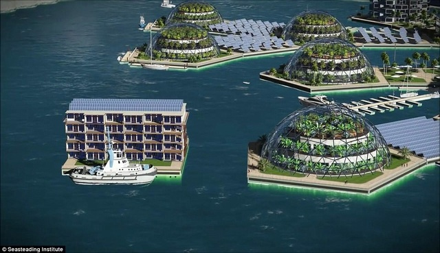 """Quốc gia """"nổi trên mặt nước"""" đầu tiên của thế giới sẽ xuất hiện ở Thái Bình Dương - 4"""