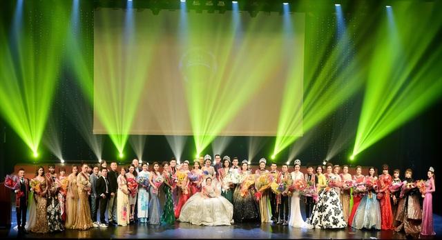 Chung kết cuộc thi Hoa hậu và Nam vương Doanh Nhân Người Việt Thế Giới 2018 với nhiều cảm xúc đong đầy