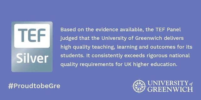 Đại học Greenwich (Việt Nam) được thừa hưởng chất lượng giảng dạy chuẩn quốc tế đã được công nhận tại London từ Đại học Greenwich UK - Giải thưởng Bạc cho chương trình giảng dạy xuất sắc.