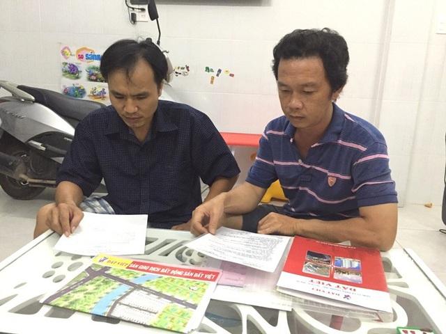 Nhiều người dân tại khu dân cư bắc Phong Phú phản ánh sự việc và mong các cơ quan chức năng giải quyết.