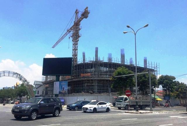 Khu phức hợp cao cap DITP Power trên tuyến đường Nguyễn Tất Thành nối dài với tổng vốn đầu tư 250 tỷ đồng, 18 tầng đang dần hình thành