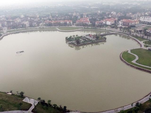 View hồ điều hòa nhìn từ căn hộ của chung cư An Bình City