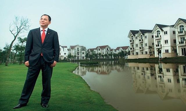 Hai công ty của ông Phạm Nhật Vượng thay nhau vị trí quán quân về vốn hoá trên thị trường chứng khoán
