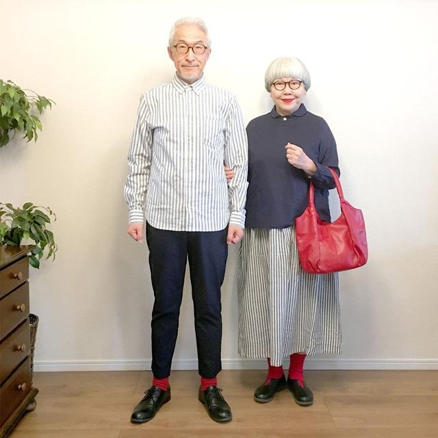 Cặp vợ chồng nổi tiếng ở tuổi U70 vì… mặc đồ đôi tuyệt đẹp - 14