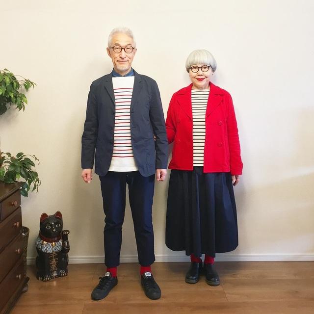 Cặp vợ chồng nổi tiếng ở tuổi U70 vì… mặc đồ đôi tuyệt đẹp - 12