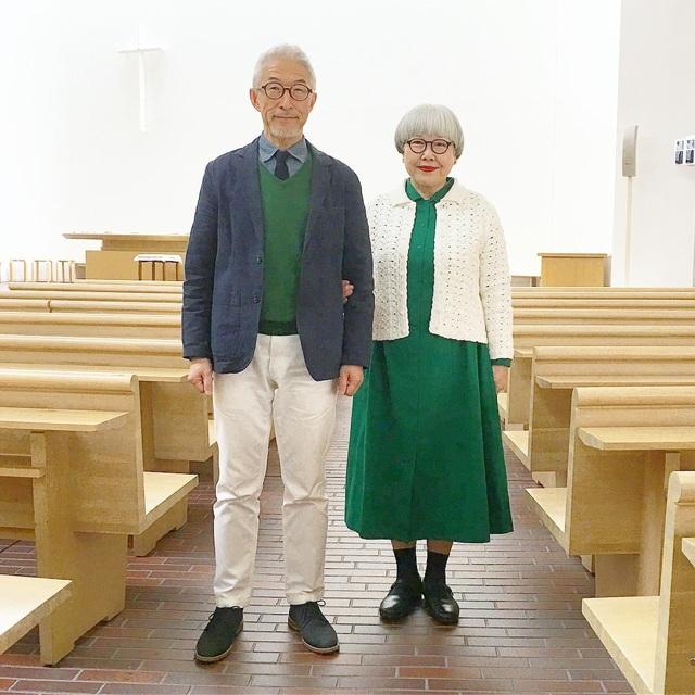 Cặp vợ chồng nổi tiếng ở tuổi U70 vì… mặc đồ đôi tuyệt đẹp - 11