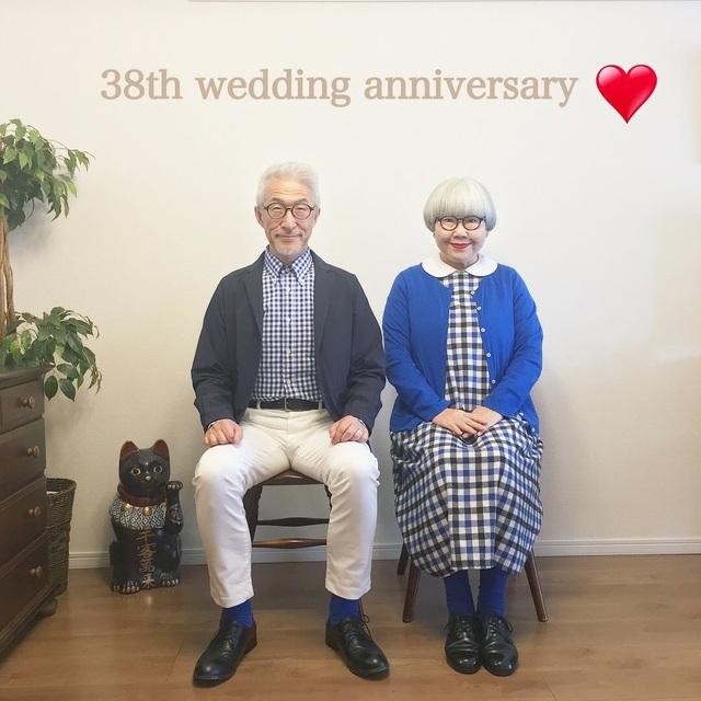 Cặp vợ chồng nổi tiếng ở tuổi U70 vì… mặc đồ đôi tuyệt đẹp - 10