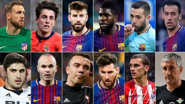 Những cái tên xuất sắc nhất được tờ Marca vinh danh ở mùa này