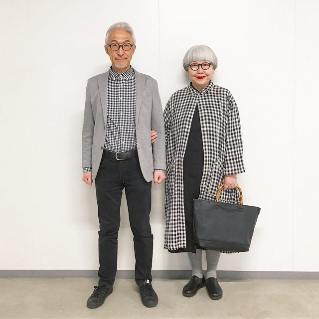 Cặp vợ chồng nổi tiếng ở tuổi U70 vì… mặc đồ đôi tuyệt đẹp - 3