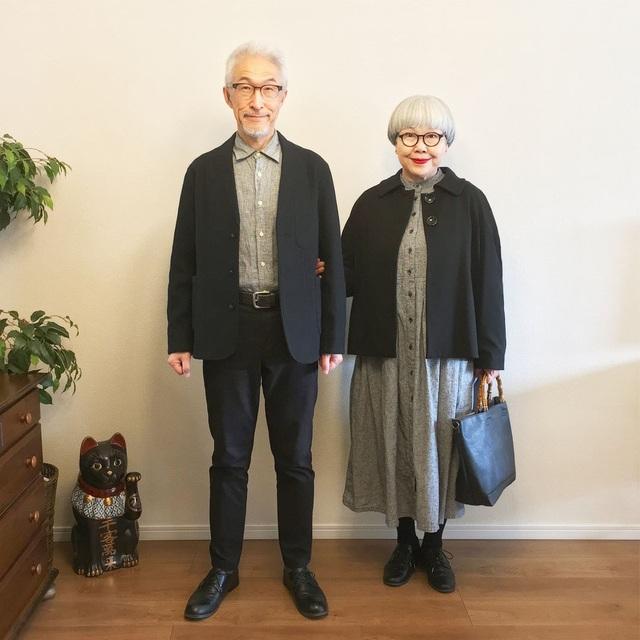 Cặp vợ chồng nổi tiếng ở tuổi U70 vì… mặc đồ đôi tuyệt đẹp - 4