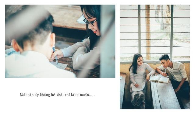 Với mong muốn được làm lại những điều chưa dám làm, từng bỏ lỡ của 1 năm trước, bạn trẻ Lê Xuân Hậu (sinh năm 1997) hiện đang theo học ngành Công nghệ thông tin của một trường đại học tại TP. HCM đã thực hiện bộ ảnh về chủ đề chuyện tình gà bông.
