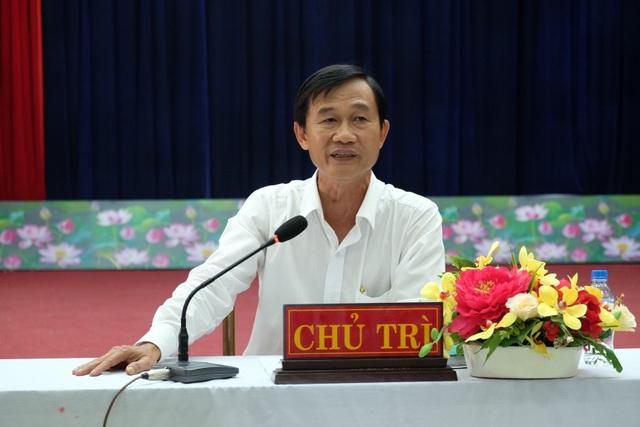 Ông Nguyễn Văn Tĩnh - Chủ tịch UBND quận Thanh Khê, TP Đà Nẵng.