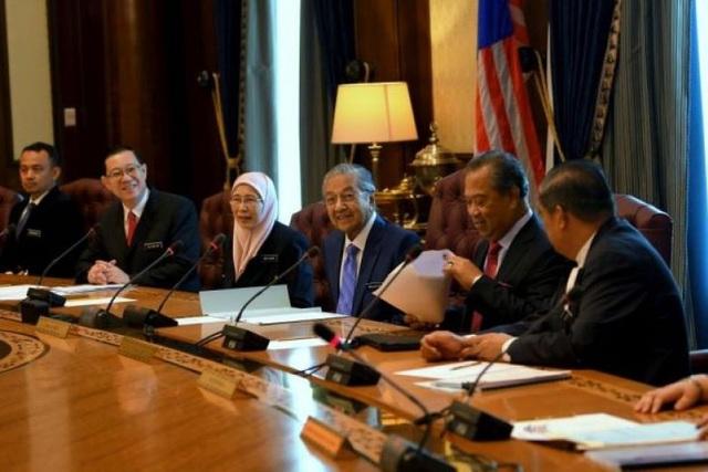 Cuộc họp nội các đầu tiên của chính phủ mới Malaysia. (Ảnh: Star)