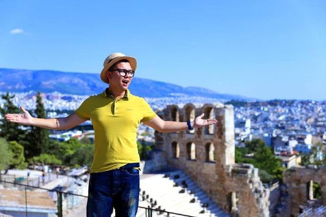 Du lịch giúp anh trở nên tự tin, hiểu biết và thú vị hơn.