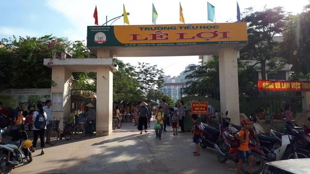 Trường tiểu học Lê Lợi, Hà Đông, Hà Nội.