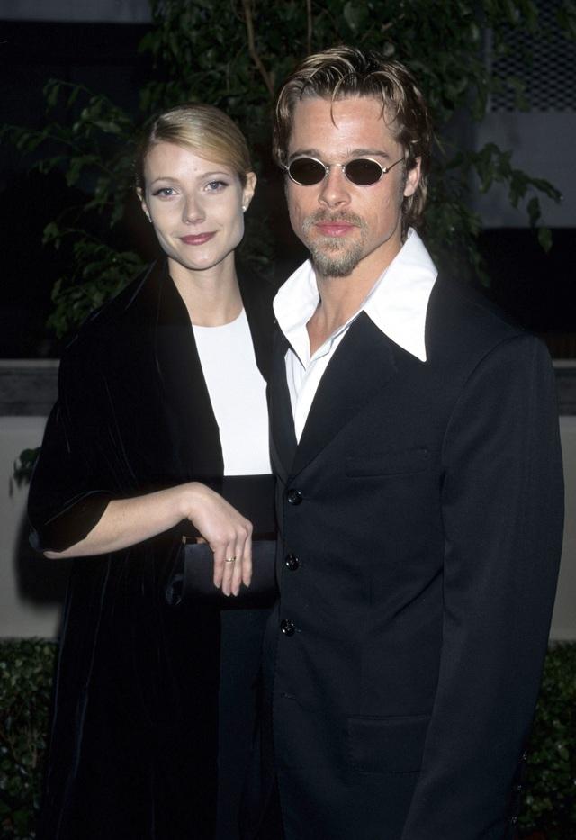 Gwyneth Paltrow bên bạn trai thời bấy giờ - Brad Pitt