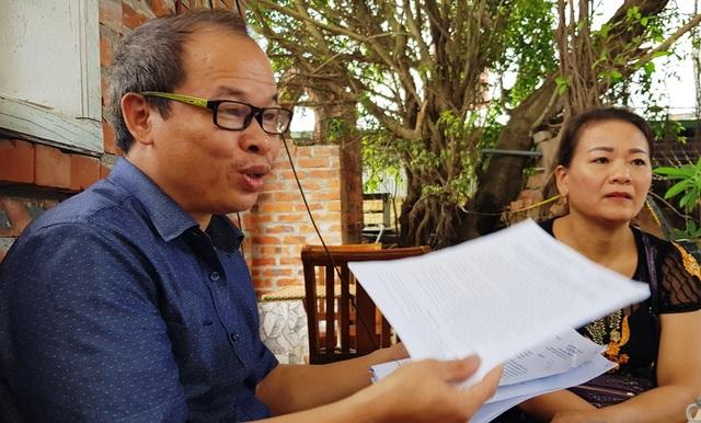 Ông Phúc nói: Đây có thể là dấu hiệu biển thủ chứng cứ của UBND huyện Nam Đàn. Bản gốc Quyết định cấp đất năm 1989 chính là căn cứ pháp lý chứng minh quyền sử dụng hợp pháp của gia đình tôi trên diện tích đất đã được UBND huyện Nam Đàn cấp....
