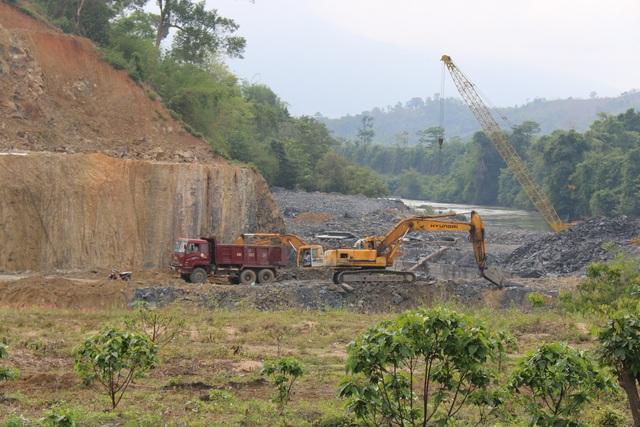 Thủy điện được xây dựng trên diện tích trước đây là rừng đặc dụng