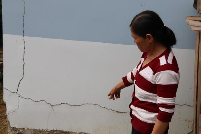 Tuy nhiên hoạt động xây dựng lại làm ảnh hưởng tới hàng chục căn nhà ở Đắk Nông