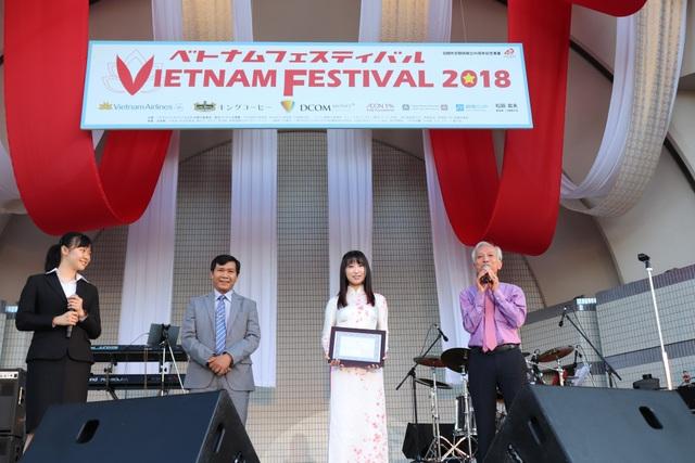 Lãnh đạo TP Hội An tại sự kiện quảng bá ở Nhật Bản vừa qua