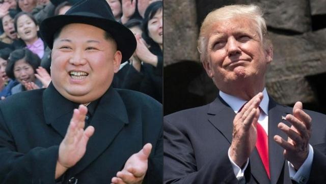 Nhà lãnh đạo Triều Tiên Kim Jong-un (trái) và Tổng thống Mỹ Donald Trump dự kiến gặp nhau vào tháng sau tại Singapore. (Ảnh: AFP)