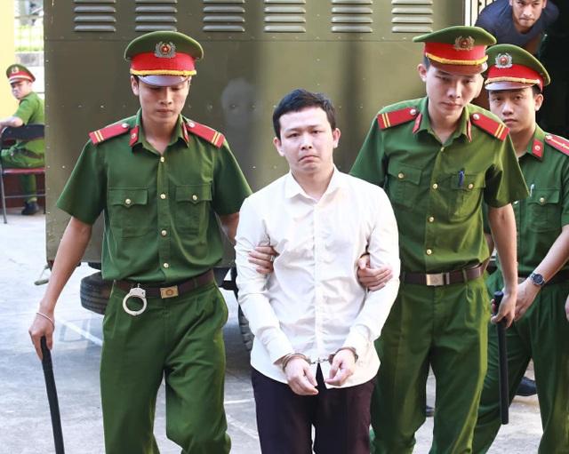 Bị cáo Trần Văn Sơn (Ảnh: Trần Thanh)