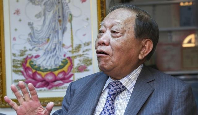 Tỷ phú Ma Ah Muk, 87 tuổi - Ảnh: SCMP.