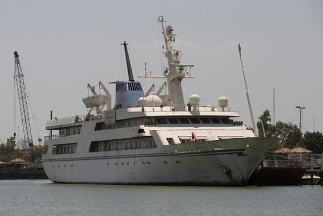 Siêu du thuyền Basrah Breeze. Ảnh: Reuters