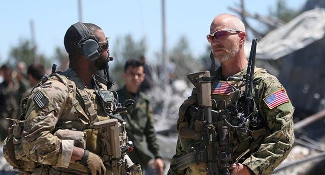 Binh sĩ Mỹ trong liên quân quốc tế đánh IS tại Syria. Ảnh: REUTERS