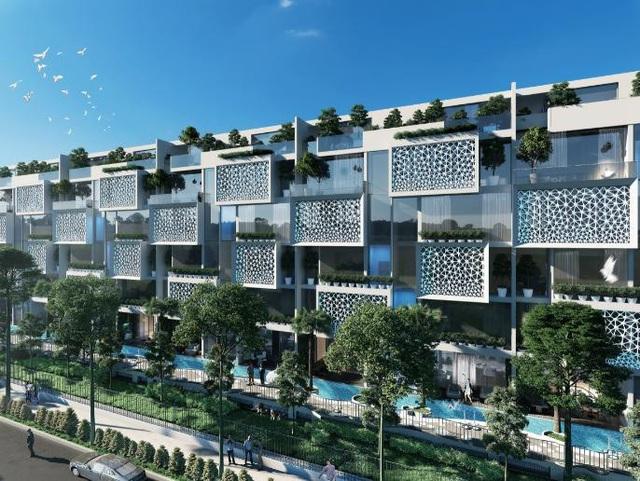 EverGreen tạo nên một môi trường sống trong lành và không gian xanh mơ ước khi kết hợp hoàn hảo giữa công trình, cảnh quan, cây xanh, mặt nước một cách hài hòa nhất.