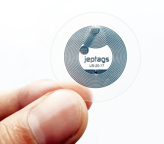Chíp Jeptags sử dụng công nghệ NFC