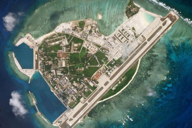 Trung Quốc ngang nhiên triển khai các khí tài quân sự trên đảo Phú Lâm thuộc quần đảo Hoàng Sa của Việt Nam. (Ảnh minh họa: Reuters)