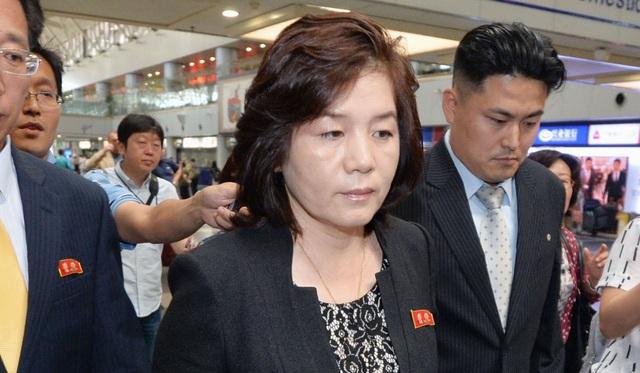 Thứ trưởng Ngoại giao Triều Tiên Choe Son-hui (Ảnh: Kyodo)