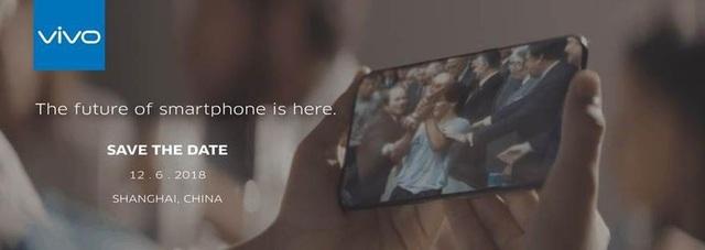 Thư mời sự kiện đặc biệt để ra mắt phiên bản thương mại của Vivo Apex