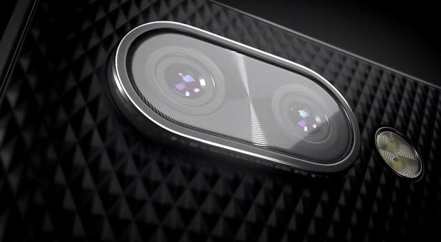 KEY2 sẽ là chiếc smartphone đầu tiên sở hữu camera kép của BlackBerry