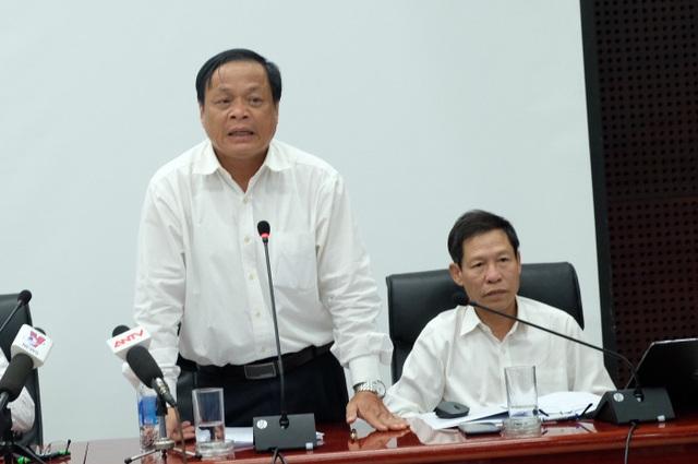 Lãnh đạo Sở Nội vụ TP Đà Nẵng họp báo thông tin việc nhiều người rút khỏi Đề án nguồn nhân lực chất lượng cao của thành phố