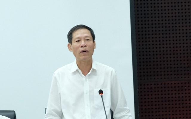 Ông Nguyễn Văn Chiến - Phó GĐ Sở Nội vụ, nguyên GĐ Trung tâm Nguồn nhân lực chất lượng cao TP Đà Nẵng phát biểu về trường hợp ông Trần Văn Mẫn được cử đi học thạc sĩ ở nước ngoài vào năm 2011
