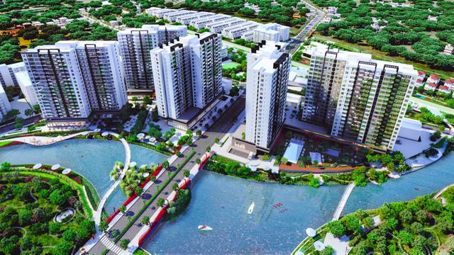 Flora Mizuki nằm trong tổng thể khu đô thị Mizuki Park quy mô 26 ha trên đại lộ Nguyễn Văn Linh, cách Phú Mỹ Hưng và Chợ Lớn chỉ từ 4-4,5km.
