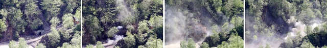 Quy trình phá hủy đường hầm số 3. (Ảnh: Reuters)