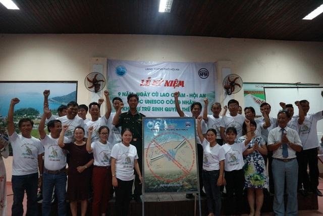 Hành động vì môi trường Cù Lao Chàm xanh-sạch-đẹp