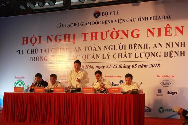 Thứ trưởng Nguyễn Viết Tiến phát biểu chỉ đạo tại hội nghị. Ảnh: L.H